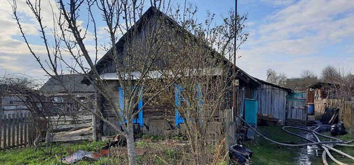 Мужчина погиб на пожаре в Ляховичском районе