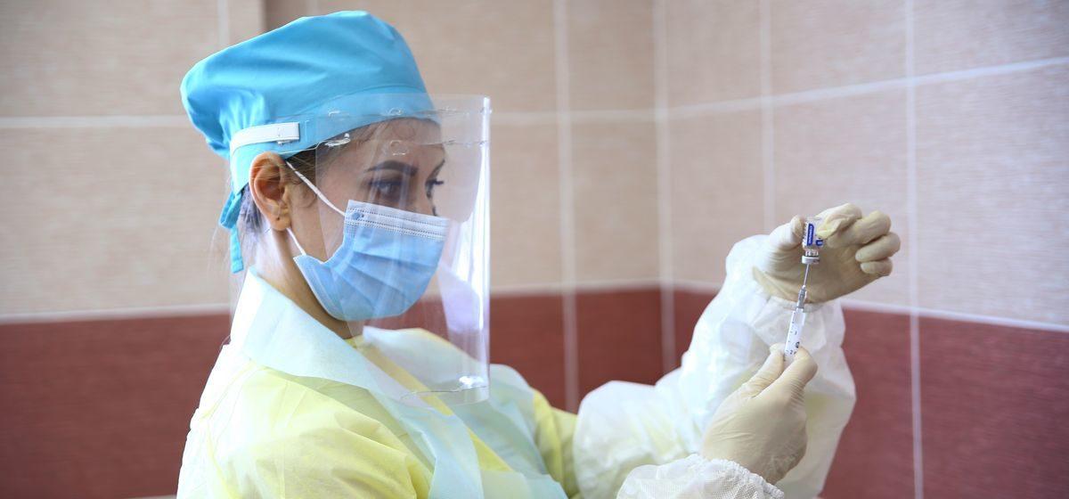 Сколько человек уже вакцинировалось от COVID-19 в Барановичском регионе?