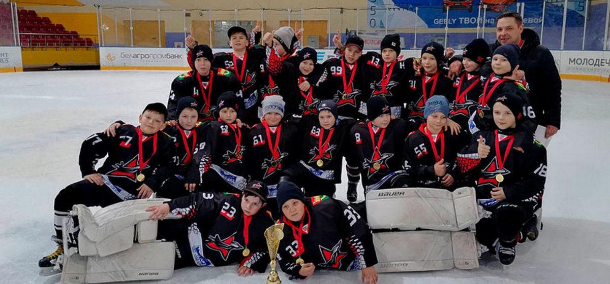 Юные хоккеисты из Барановичей стали победителями турнира