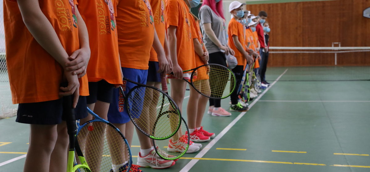 Теннисный турнир «Золотая ракетка» стартовал в Барановичах