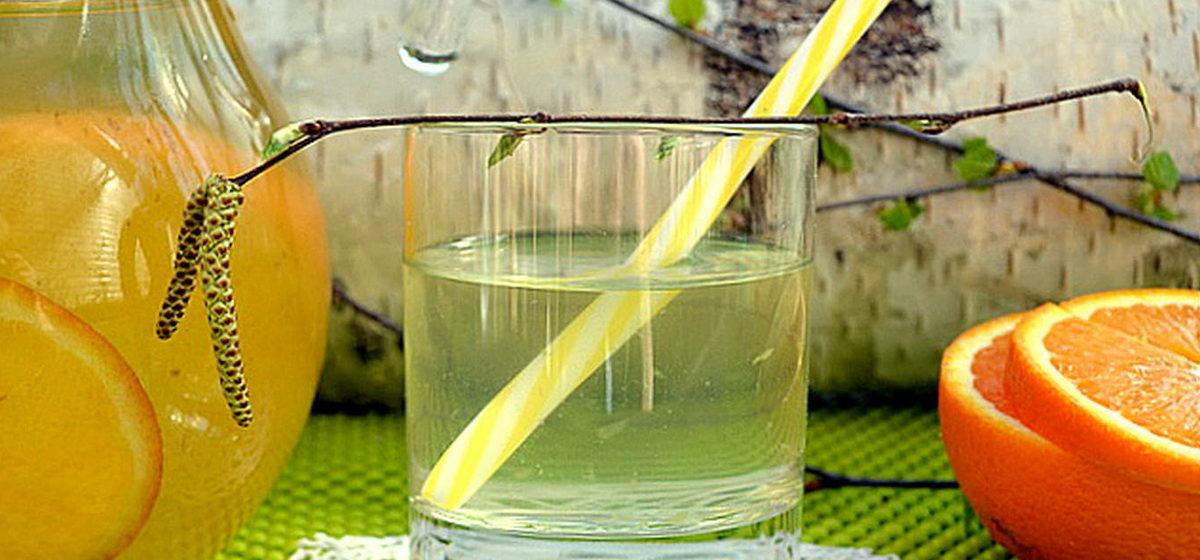 Вкусно и просто. Ароматный березовый сок с апельсином