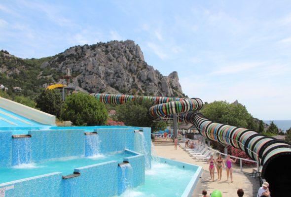 Незабываемый отдых в аквапарке Симеиз в Ялте, Крым