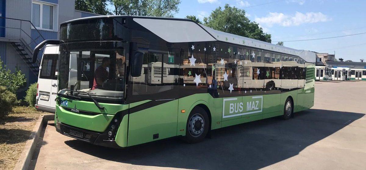 В Барановичах появился автобус нового поколения