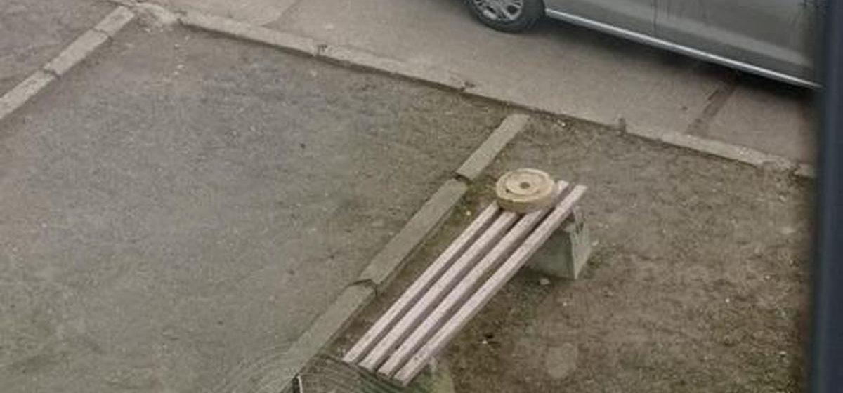 Дети нашли противотанковую мину и играли ею в футбол в Полоцке