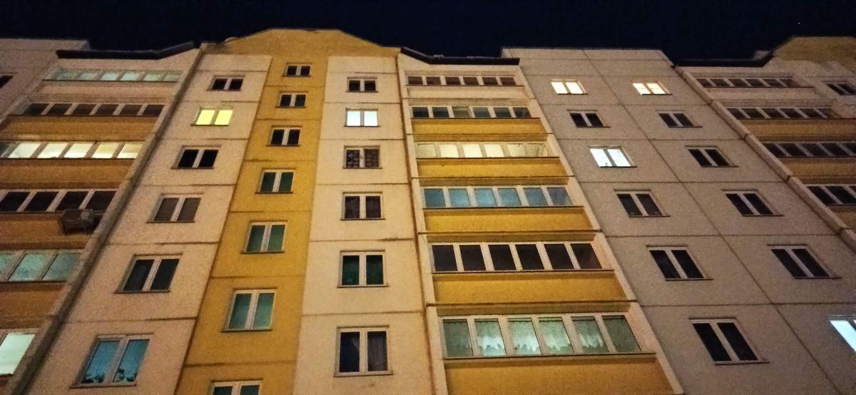 Человек упал с 14-этажки в Гомеле