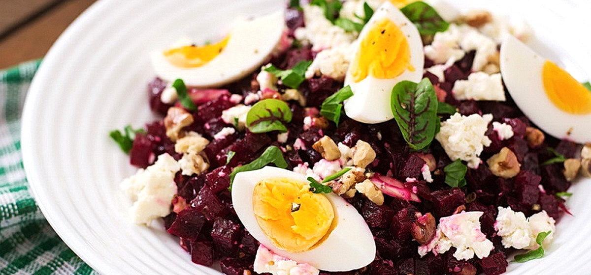 Вкусно и просто. Салат с грецкими орехами и свеклой
