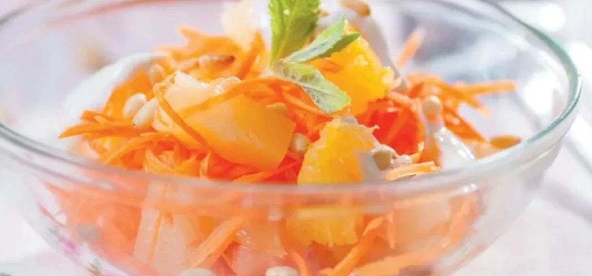 Вкусно и просто. Витаминный салат с корицей и изюмом