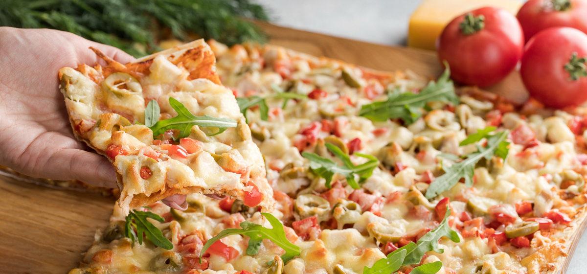 Вкусно и просто. Пицца из лаваша в духовке