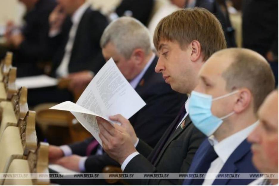 Депутат Палаты представителей Национального собрания Республики Беларусь Павел Попко. Фото: БЕЛТА