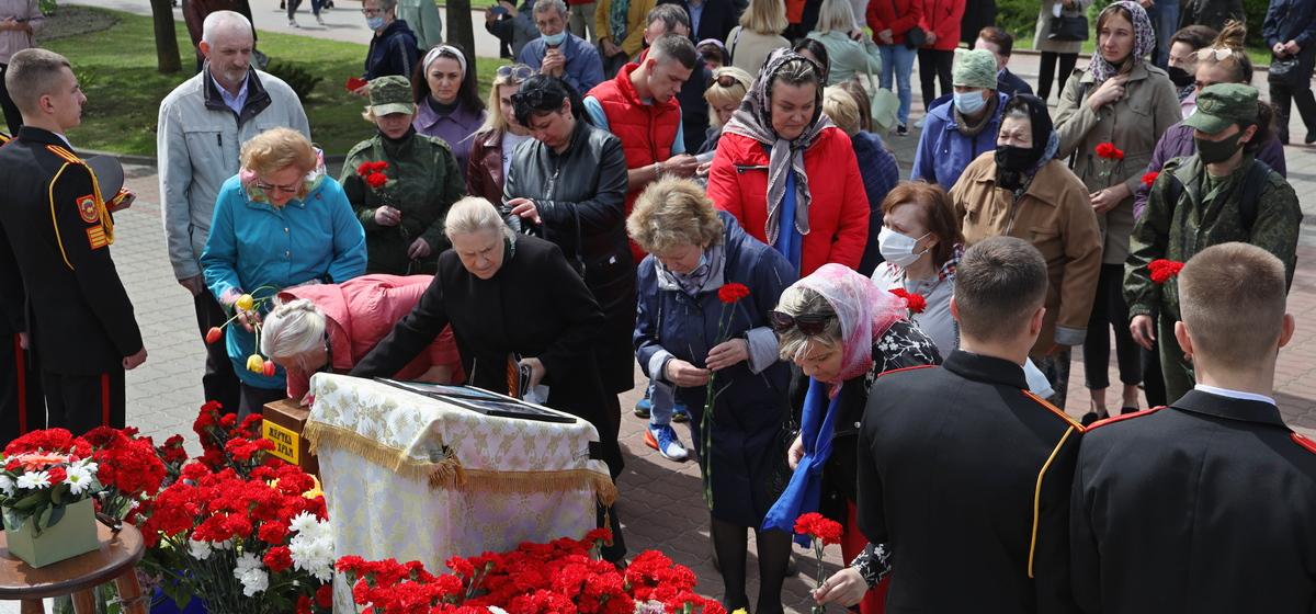Панихида в память о погибших летчиках прошла в Барановичах
