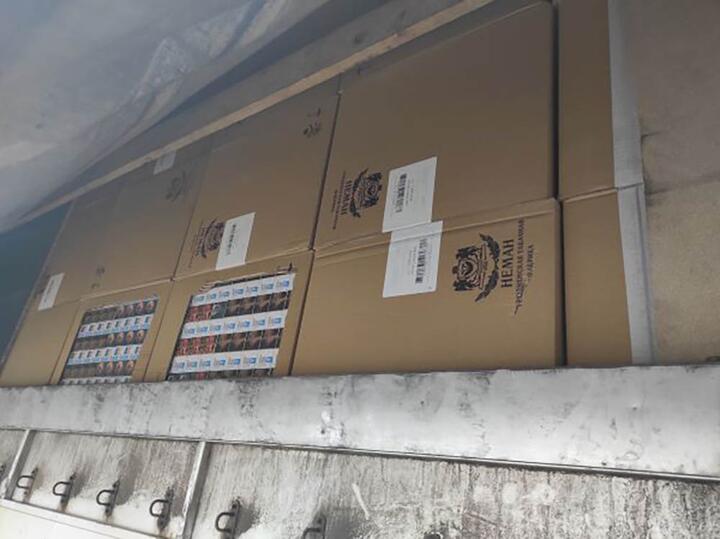 В машине белоруса литовские таможенники нашли контрабандную партию сигарет почти на 1 миллион долларов