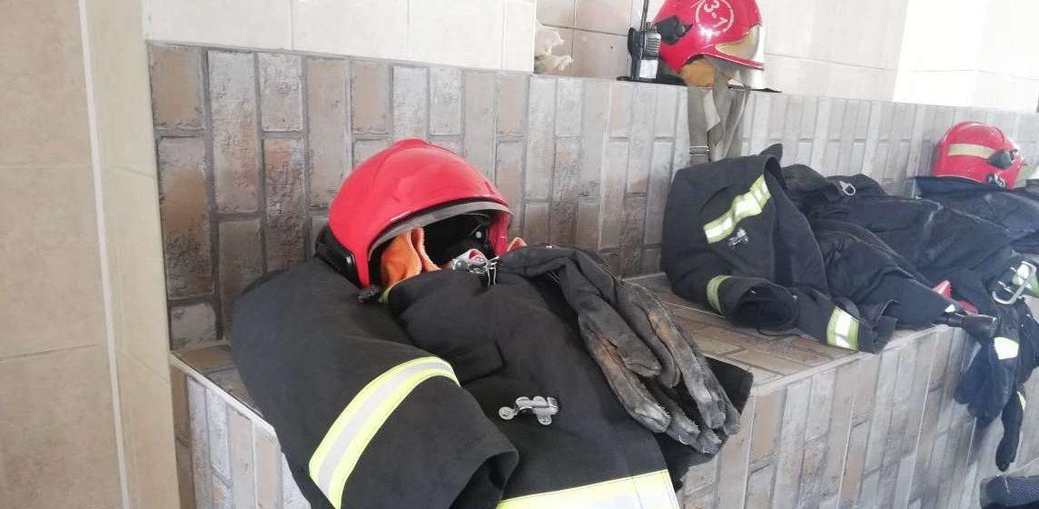 Автомобиль горел в Барановичах