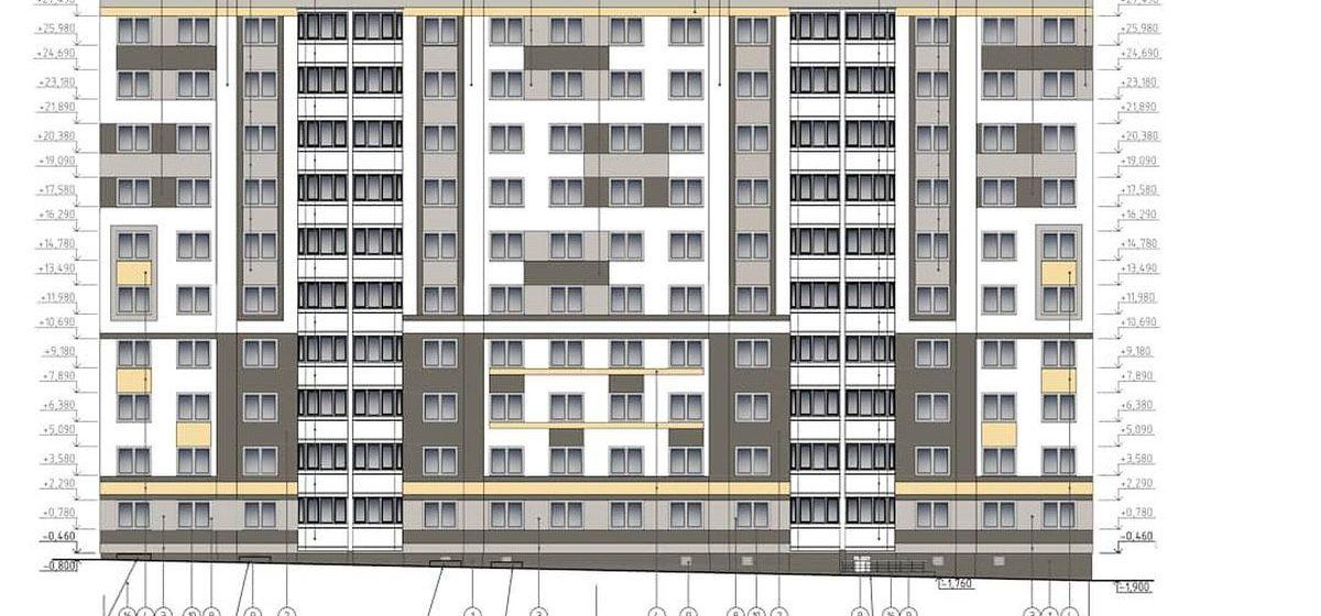 Какого цвета будут фасады домов в новом микрорайоне в Барановичах