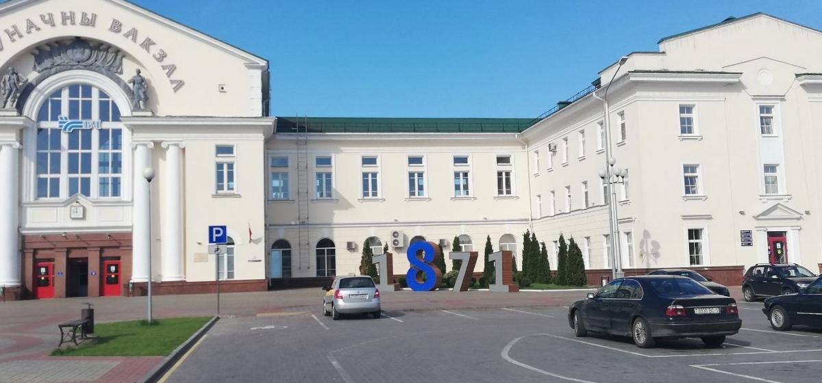 Еще одну инсталляцию к 150-летию города установили в Барановичах. Фотофакт