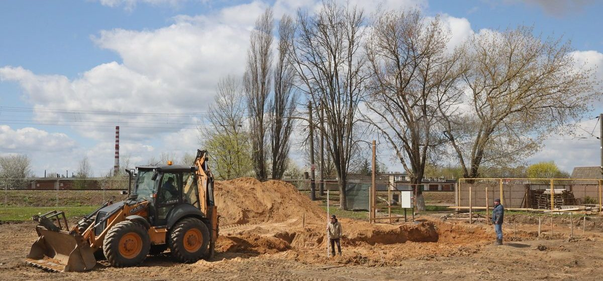 Строительство нового костела началось в Барановичах. Фотофакт