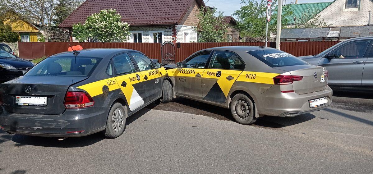 Четыре автомобиля столкнулись в Барановичах