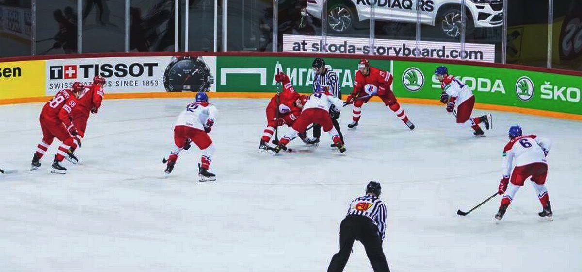 С каким результатом завершился первый поединок сборной Беларуси на чемпионате мира по хоккею