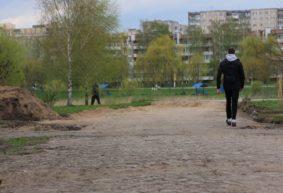 Историческую брусчатку начали восстанавливать месяц назад в Барановичах. Что изменилось за это время?