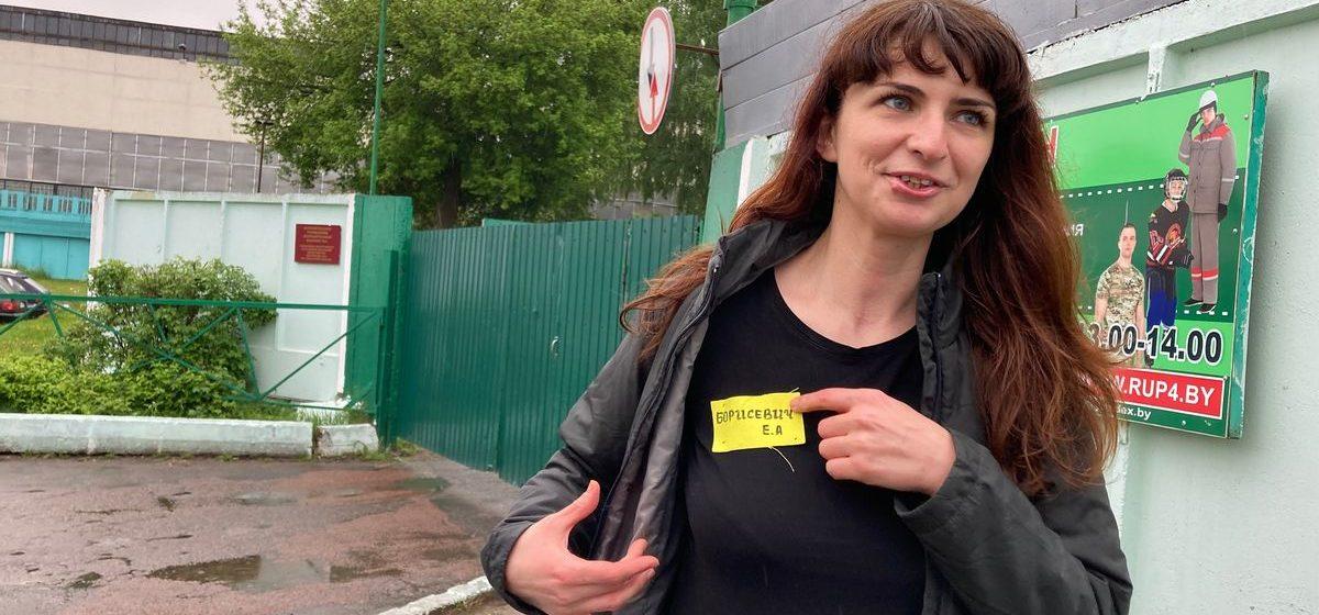 Журналистка TUT.BY Катерина Борисевич, которую осудили по делу о «ноль промилле», вышла на свободу