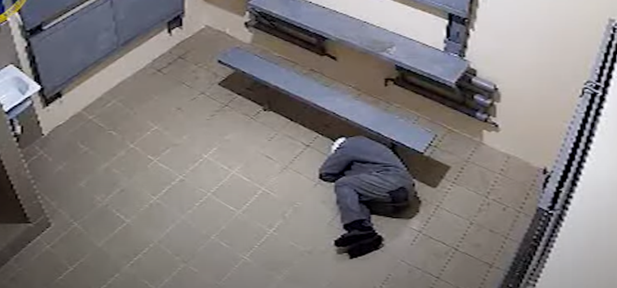 Видео смерти политзаключенного Витольда Ашурка опубликовал СК (видео 18+)
