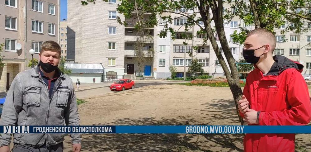 Пьяный мужчина в Гродно угрожал подросткам автоматом. Молодые люди задержали хулигана
