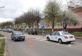 Женщину сбил на пешеходном переходе автомобиль в Барановичах