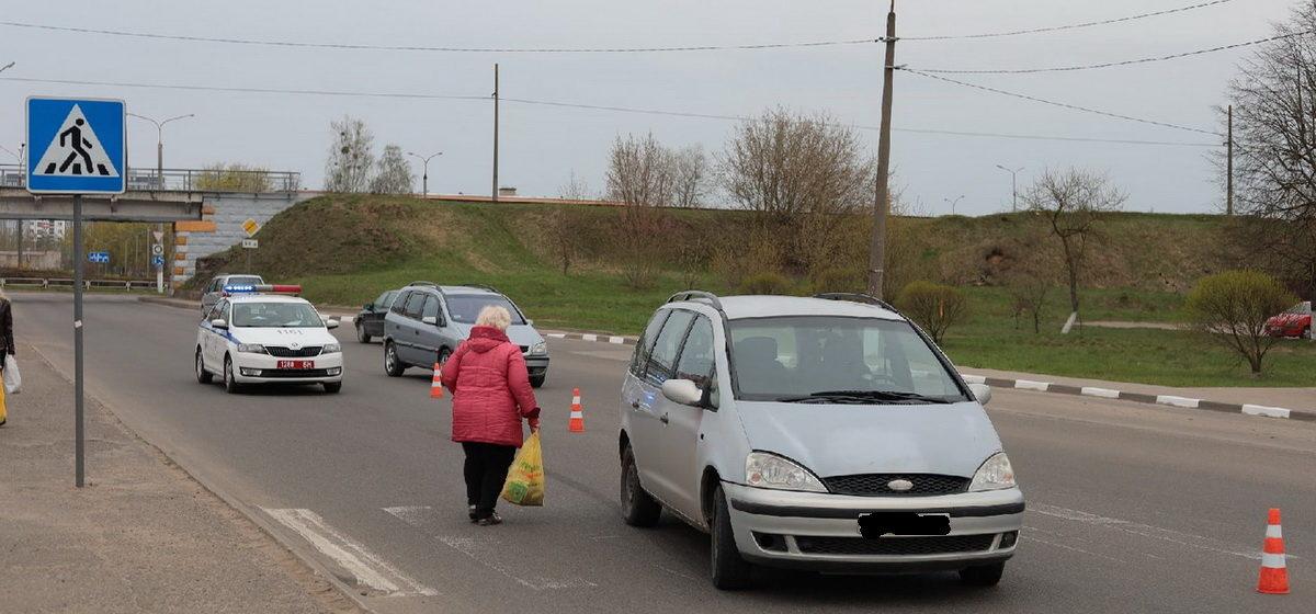 Автомобиль сбил мужчину на пешеходном переходе в Барановичах