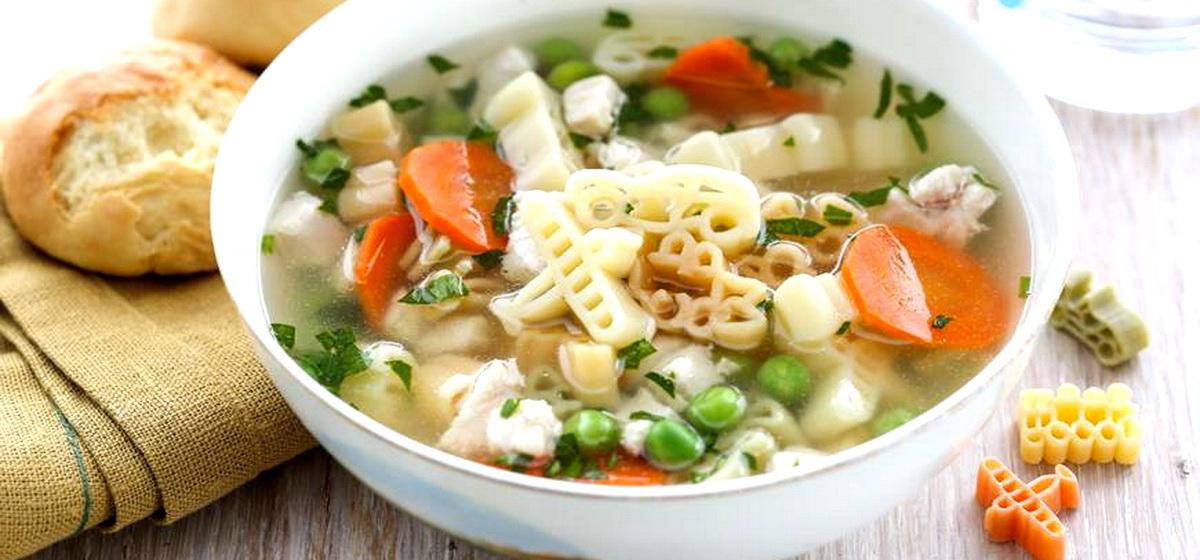 Вкусно и просто. Куриный суп как в детском саду