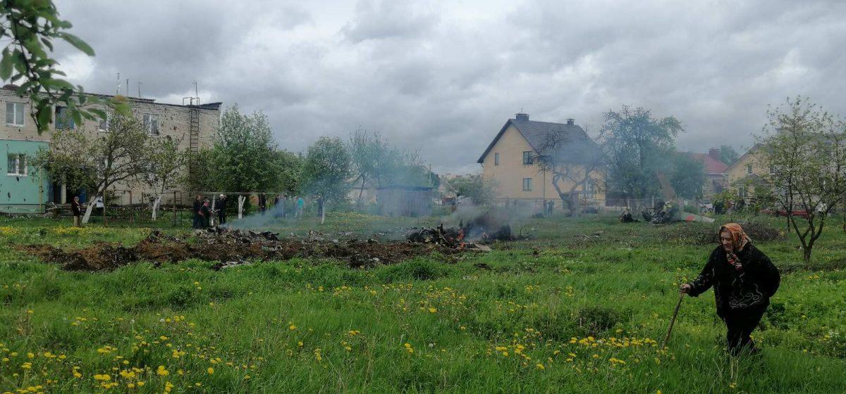 Подробности крушения самолета в Барановичах рассказали в Министерстве обороны
