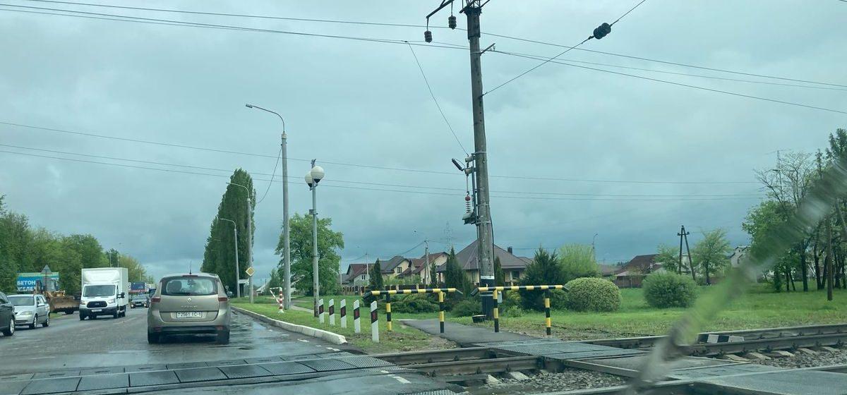 Оживленный ж/д переезд на три дня перекроют в Барановичах