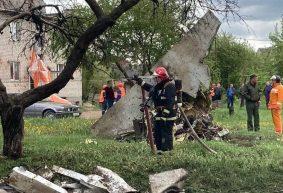 Из-за чего упал самолет в Барановичах установил Следственный комитет