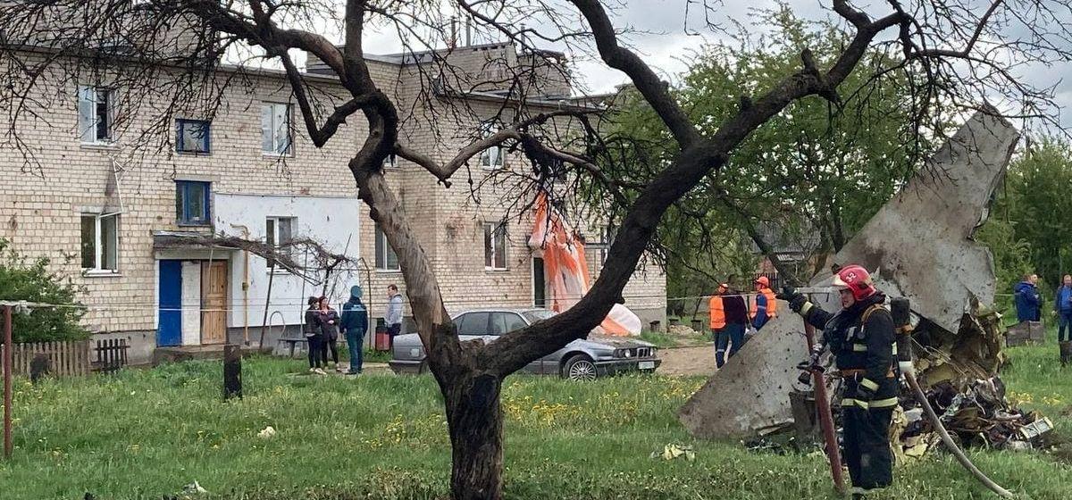 Трагическое совпадение. Ровно 24 года назад в районе Барановичей тоже упал самолет