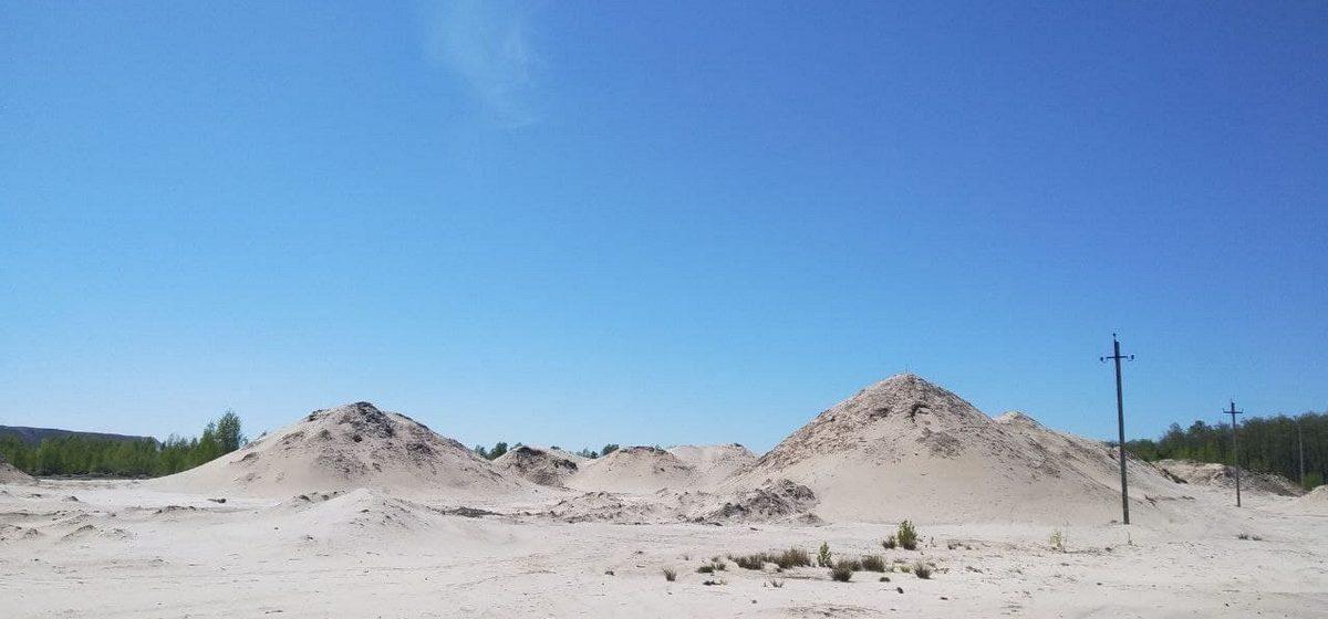 Барханы, пустыня и инопланетные карьеры. Как живет янтарная столица украинского Полесья