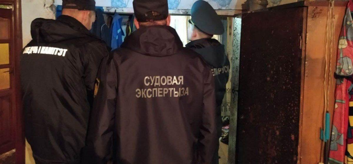 Сын поджег мать в Столбцовском районе