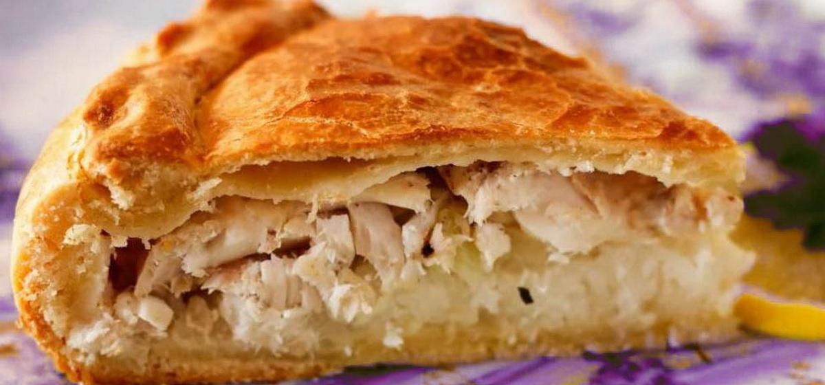 Вкусно и просто. Быстрый рыбный пирог