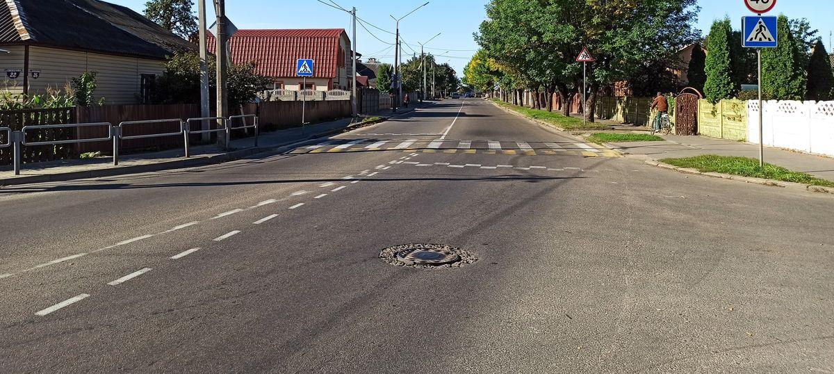 Дорожная разметка изменится на автодороге Ляховичи – Барановичи