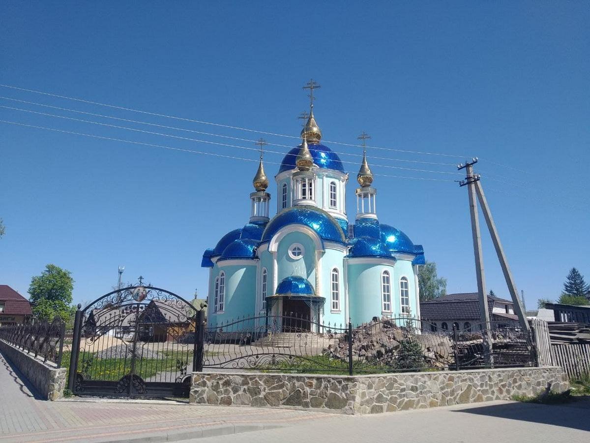 Церковь в Клесове. Фото: Никита ПАСТУХОВ