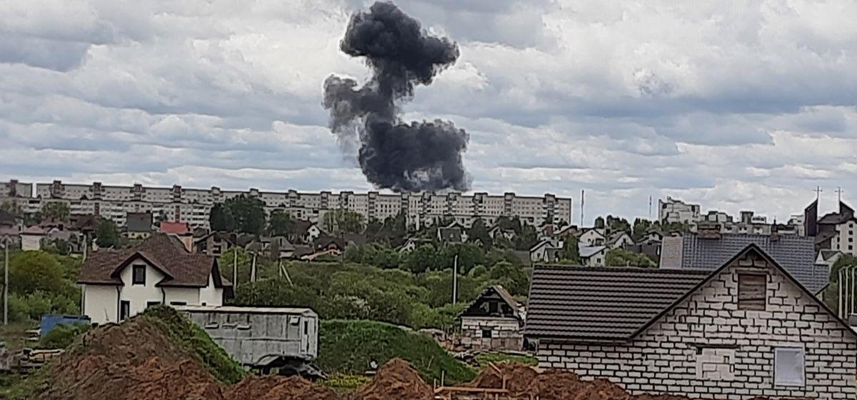 Главное за 19 мая: два пилота погибли в Барановичах, и под Борисовом рухнул мост