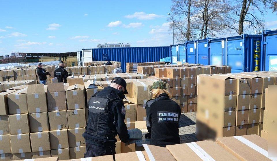 Польские пограничники задержали «гигантскую контрабанду» сигарет из Беларуси. Сумма вас удивит