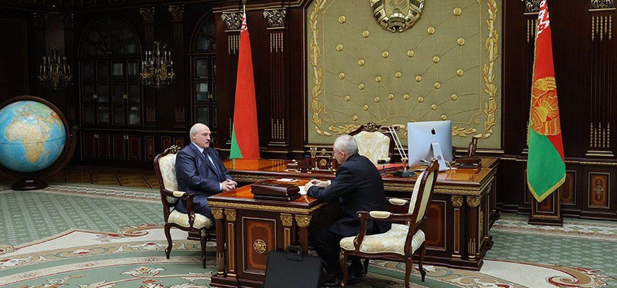 Шейман подал в отставку. Как отреагировал Лукашенко