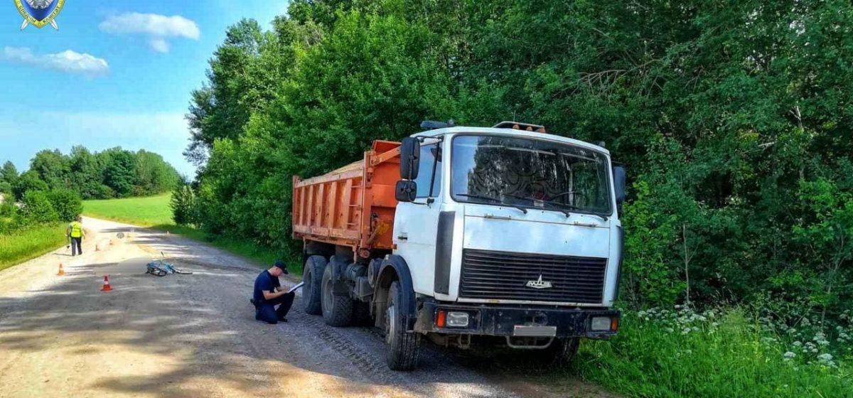 Грузовик задавил велосипедиста в Ошмянском районе
