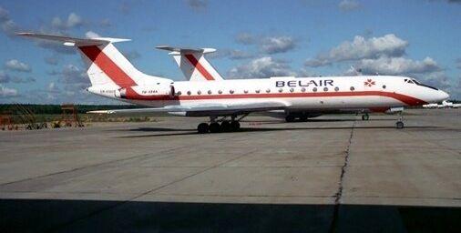 У 1990-я ў небе ляталі беларускія бела-чырвона-белыя самалёты, але не «Белавія». ФОТА і тлумачэнні