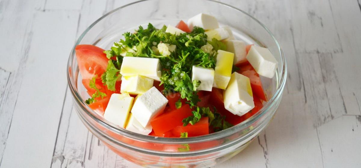 Вкусно и просто. Летний салат из крабовых палочек без майонеза
