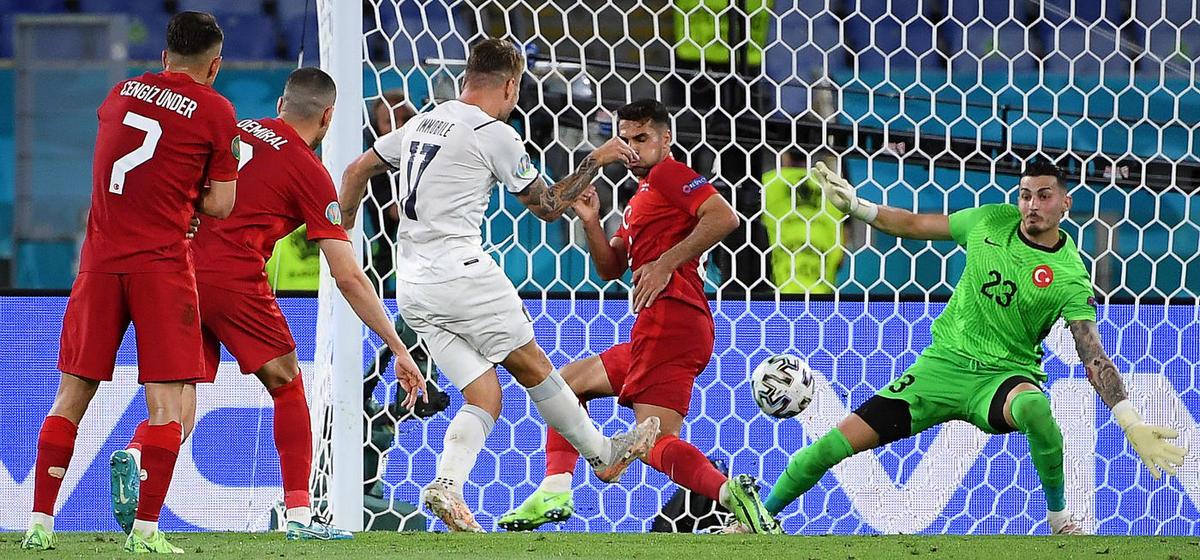 Стартовал чемпионат Европы по футболу. С каким результатом завершился первый поединок?
