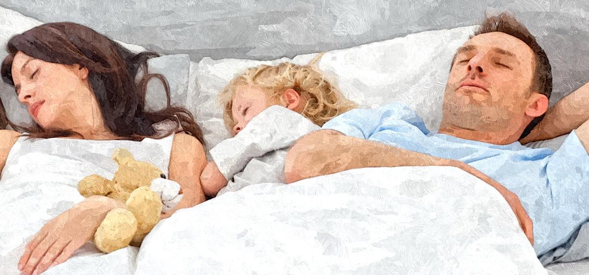 Пропал секс из-за того, что ребенок спит с родителями: что делать?