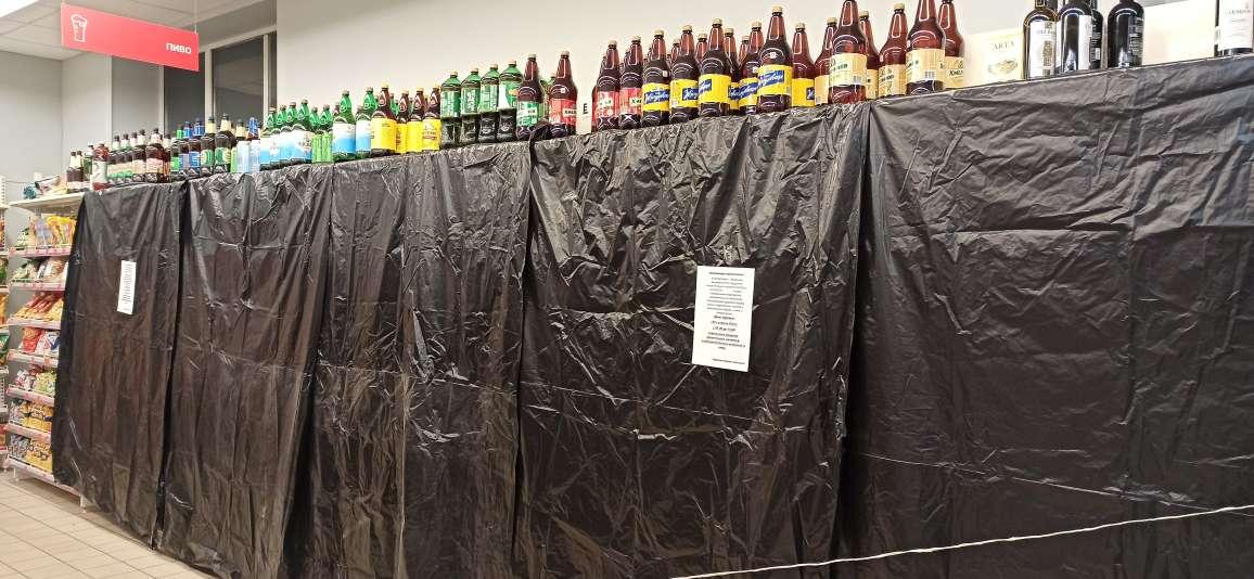 Спиртное полдня не будут продавать в центре Барановичей