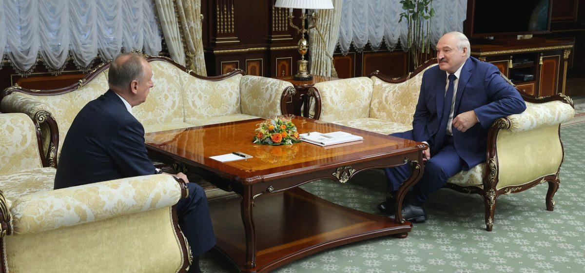 Лукашенко решил обсудить с секретарем Совета Безопасности РФ «не подлежащие огласке» вопросы