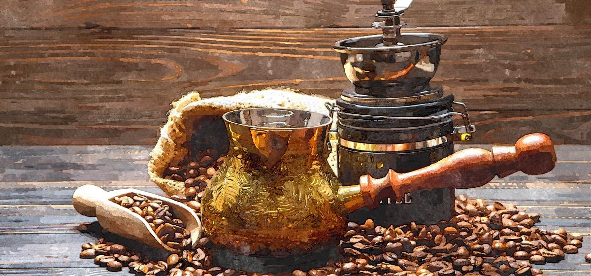 Как правильно приготовить вкусный кофе в турке. Видео