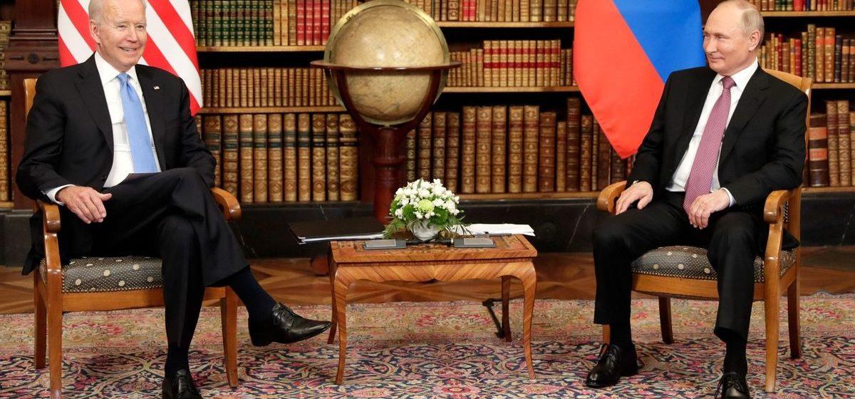 Президенты России и США провели переговоры в Женеве. Что о них рассказал Путин