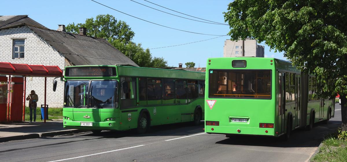 Автобусы 2 и 3 июля пойдут в объезд центра Барановичей. Как будет курсировать общественный транспорт?